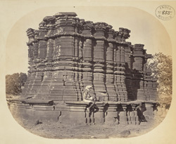 General view from the north of the temple at Dhotra, Buldana District, Berar